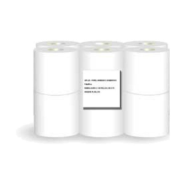 Papel higiénico doméstico 20mt 2 folhas Amoos 108 rolos
