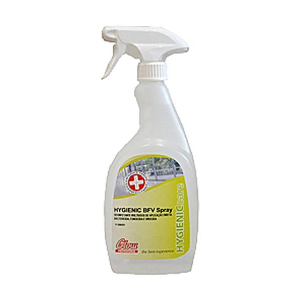Detergente desinfectante em spray, bactericida, fungicida e virucida Glow 750ml (pack 12)