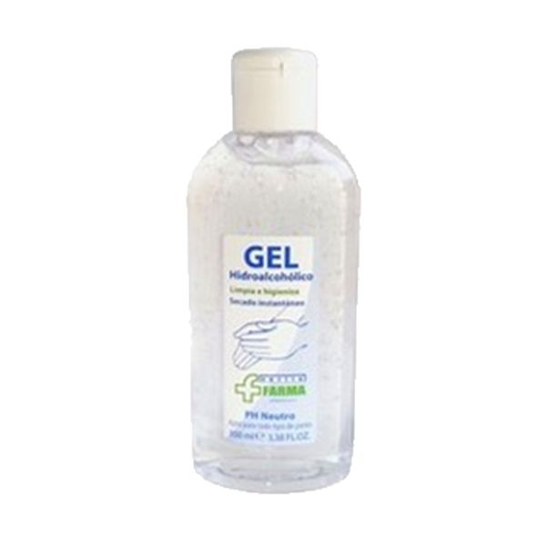 Álcool gel higienizante, desinfetante, anti-séptico 100ml (pack 18)