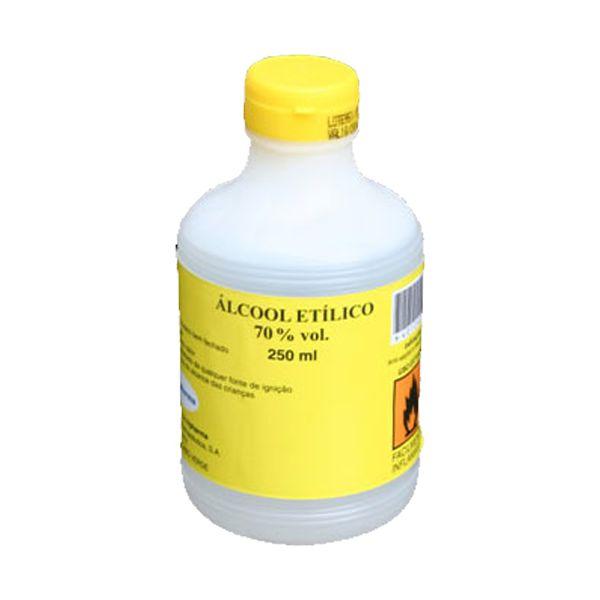 Álcool Etílico Sanitário 70% 250ml (pack 24)