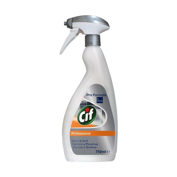 Detergente para fornos e grelhas Cif Pro Formula by Diversey 750ml