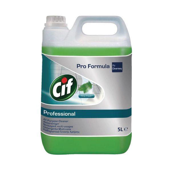 Detergente multiúsos frescura de pinho Cif Pro Formula by Diversey 5lt
