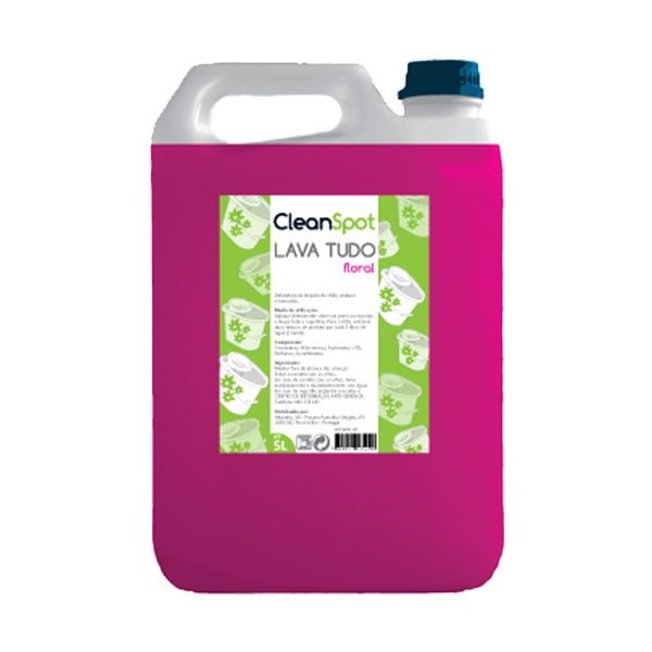 Detergente lava tudo floral Cleanspot 5lt