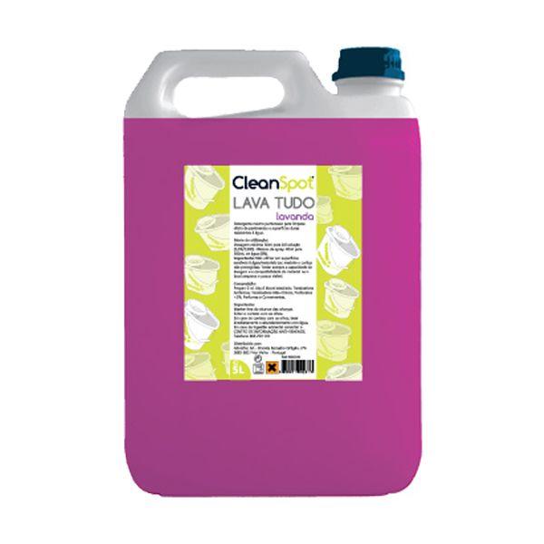 Detergente lava tudo lavanda Cleanspot 5lt