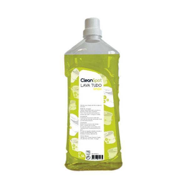 Detergente lava tudo limão Cleanspot 1,5lt