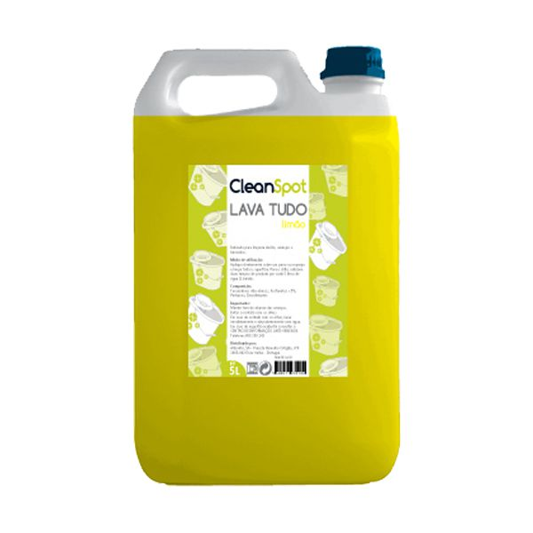 Detergente lava tudo limão Cleanspot 5lt
