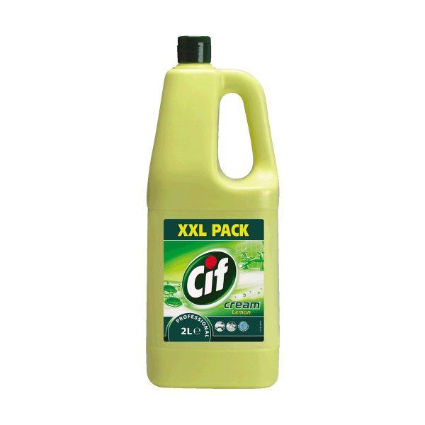 Creme de limpeza limão Cif Pro Formula by Diversey 2lt