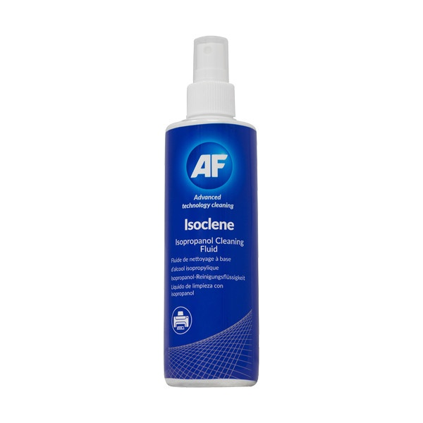 Álcool isopropanol / isopropílico em spray para limpezas técnicas AF Isoclene 250ml