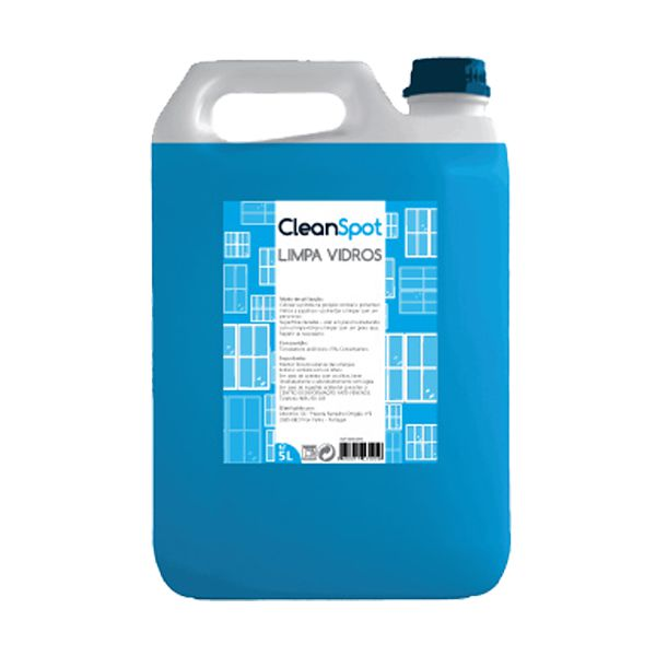 Detergente limpa vidros Cleanspot 5lt