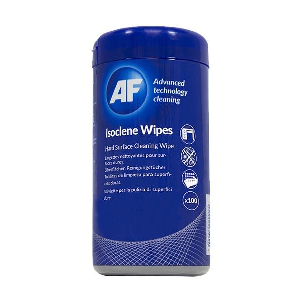 Toalhetes de álcool isopropanol / isopropílico para limpezas técnicas AF Isoclene 100un
