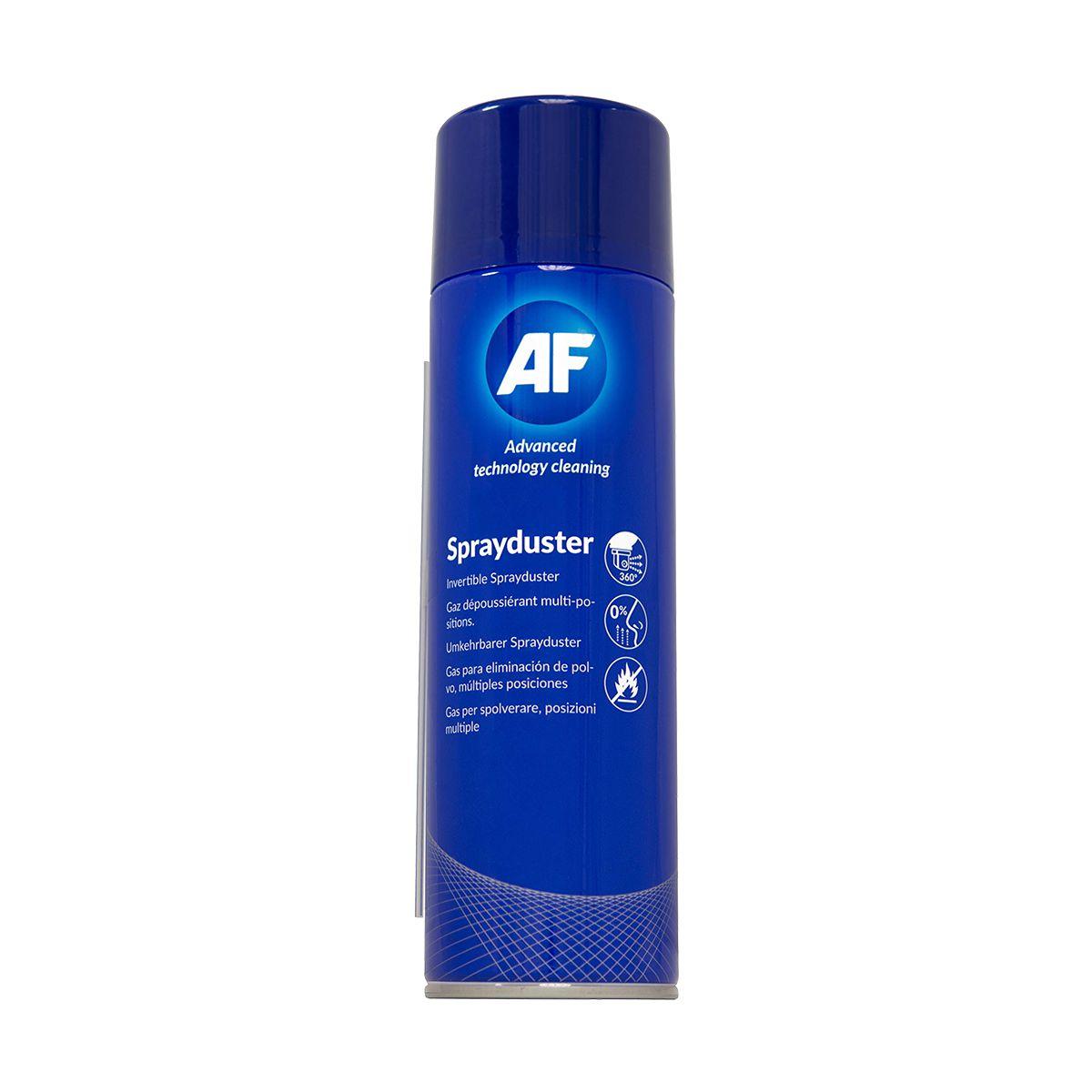 Spray de ar comprimido para limpeza técnica geral AF Sprayduster 342ml