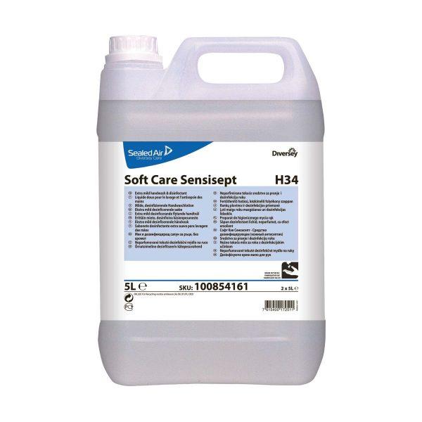 Sabonete desinfectante Diversey Soft Care Sensisept H34 5lt