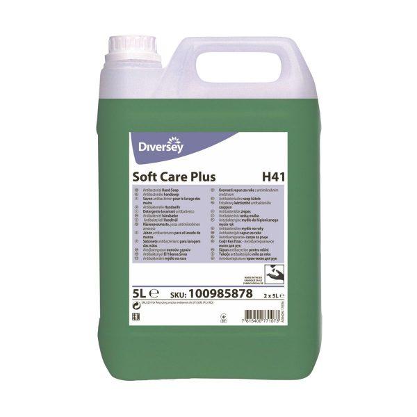 Sabonete com agentes antimicrobianos Diversey Soft Care Plus H41 5lt