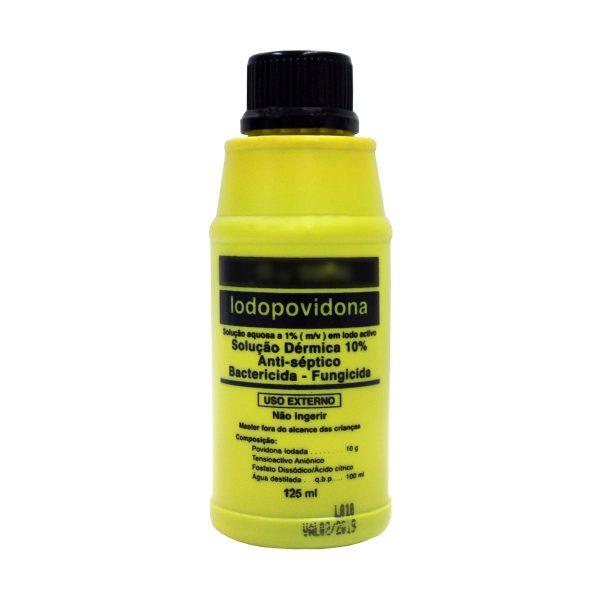 Solução aquosa de Iodopovidona (genérico Betadine) a 10% 50ml (pack 24)