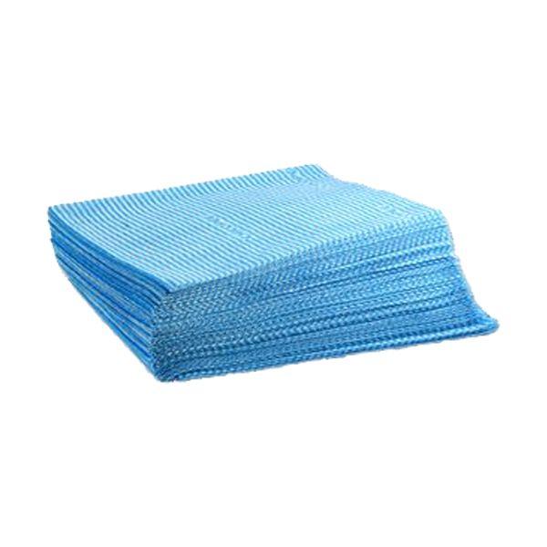Pano de cozinha em tecido Chicopee azul (HACCP) 50x40cm (pack 25)