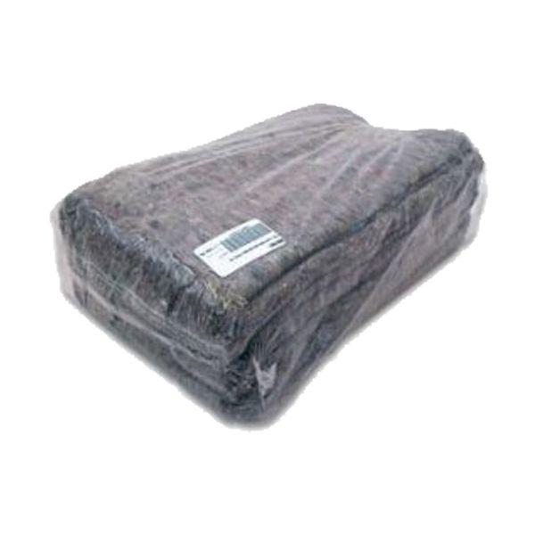 Pano debruado para chão cinza 65x60cm (pack 12)