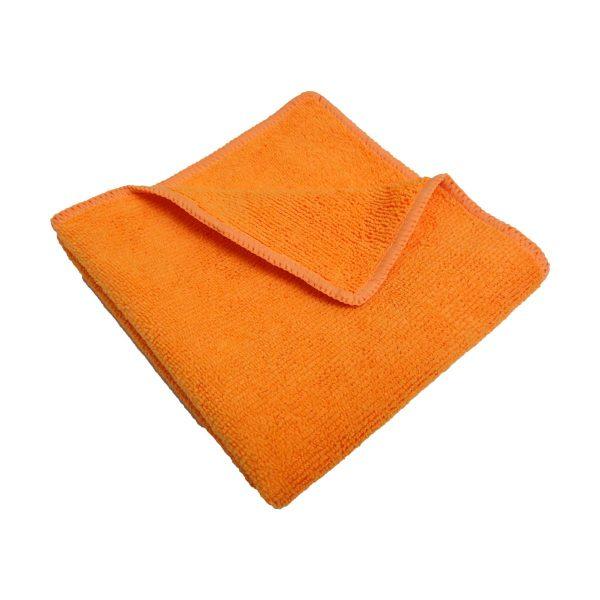 Pano microfibras laranja 30x40cm (pack 6)