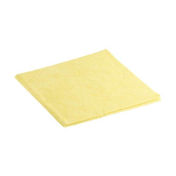 Pano multiúsos suave amarelo 40x38cm (pack 3)