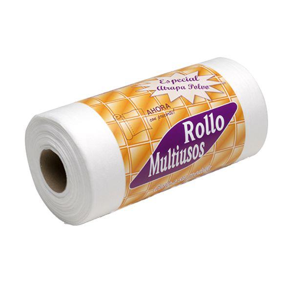Rolo de papel/pano de limpeza em TNT/AirLaid branco 500gr 27cmx37mt