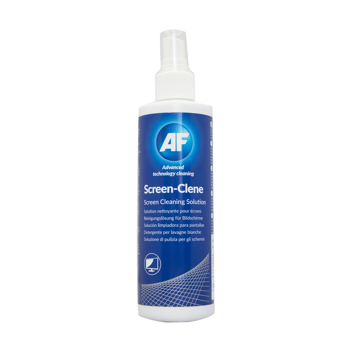 Spray antiestático para limpeza de ecrãs AF Screen-clene 250ml
