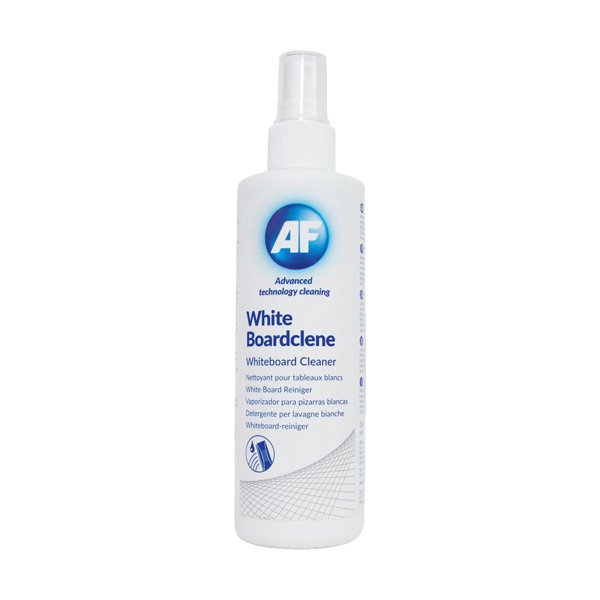 Spray para limpeza de quadros brancos AF White Boardclene 250ml