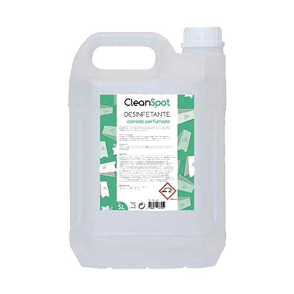 Detergente desinfectante clorado perfumado para limpezas gerais Cleanspot 5lt