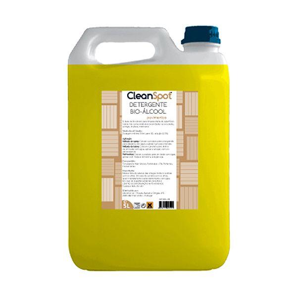 Detergente para pavimentos Bio-Álcool pH neutro Cleanspot 5lt