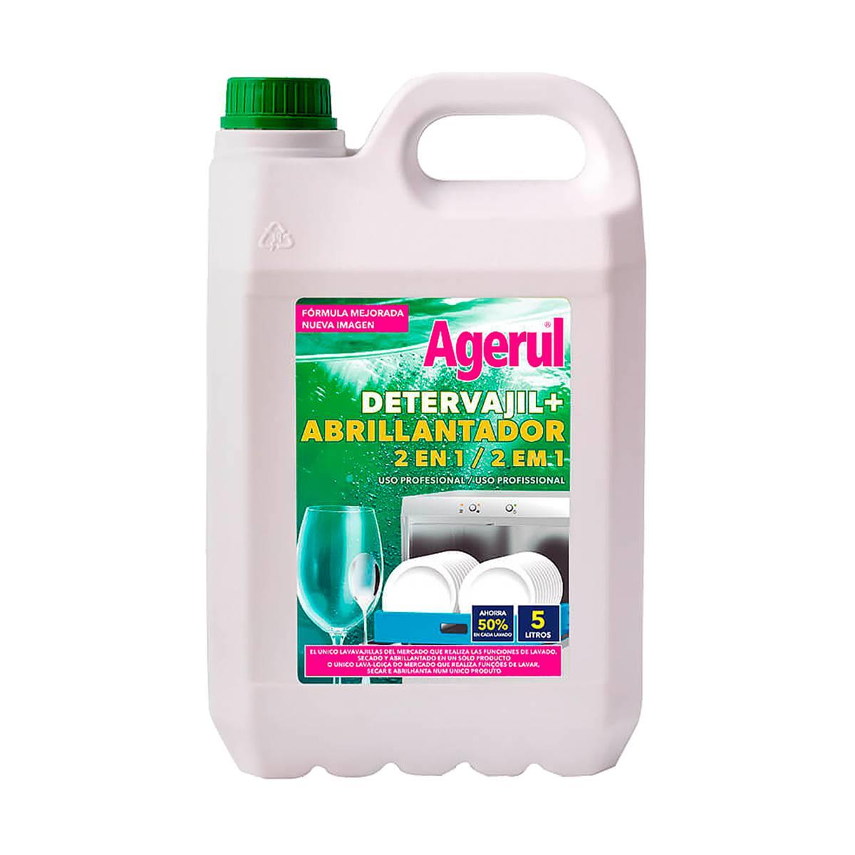 Detergente e Abrilhantador para máquina de loiça Agerul 5lt