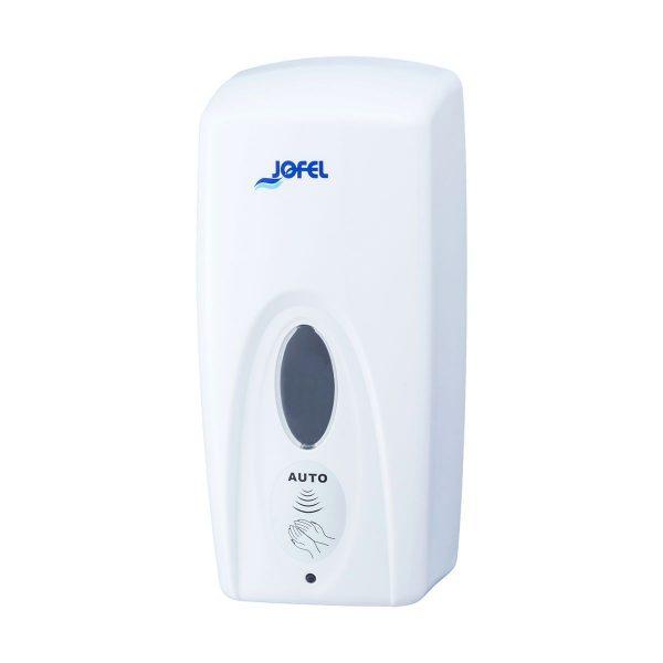 Dispensador de sabonete ou álcool gel automático com sensor Jofel 1lt