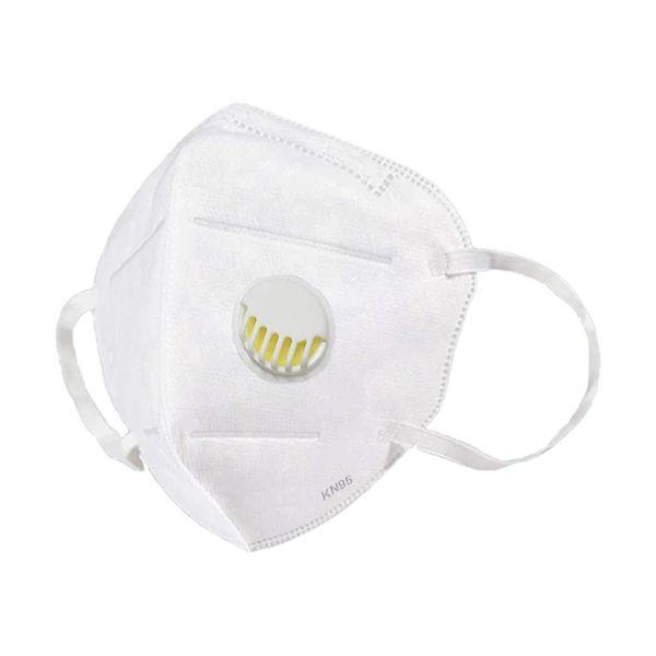 Máscara FFP2 certificada, com válvula, de alta protecção (pack 60)