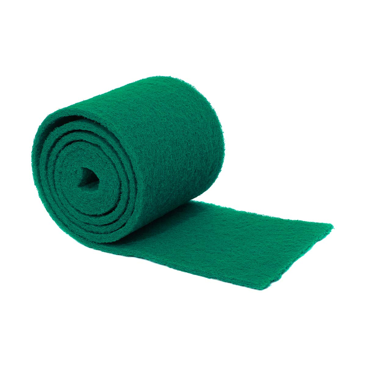 Esfregão de fibra verde para loiça em rolo 14cmx6mt
