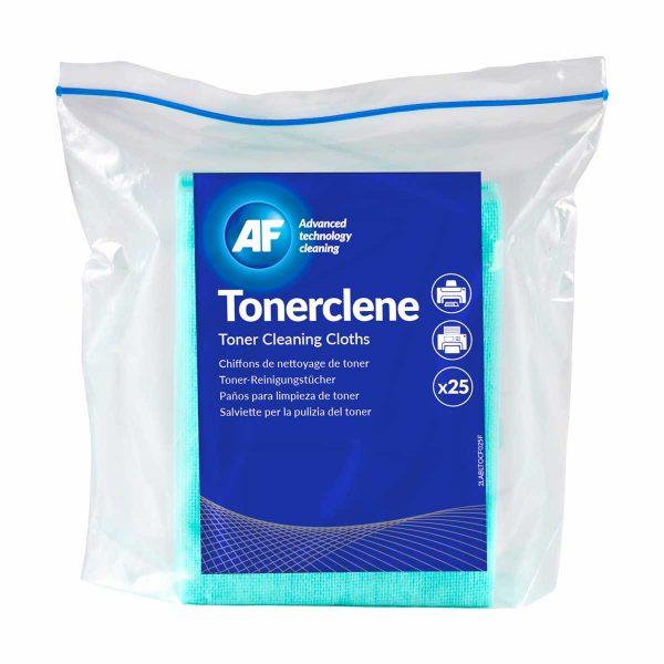 Toalhetes para limpeza de derrames de toner AF Tonerclene (pack 25)